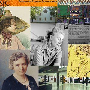 Collage Frauen in Rudolfsheim-Fünfhaus | Burjan | Biljan-Bilger | Schwarze Frauen Communitiy