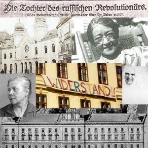 Collage Frauen im Widerstand | Janku | Schütte-Lihotzky | Restituta